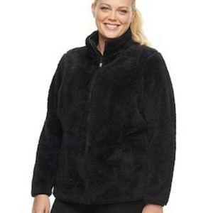 NWT Fila Sport Black Sweater